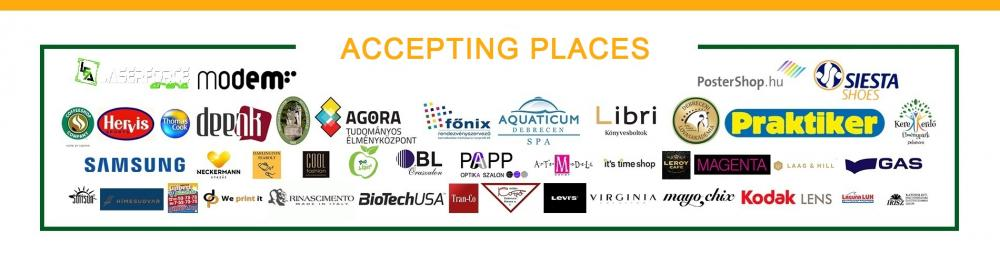 Places where UniPass Card is accepted